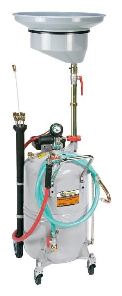 Mobiles Ölabsauggerät 90l pneumatisch