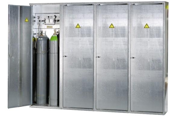 Gasflaschenschrank Typ GFL-S 8.H