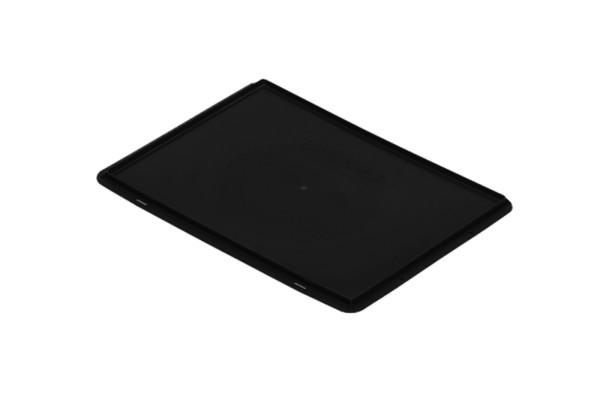 Auflagedeckel TK/D 300 A, schwarz aus Polypropylen