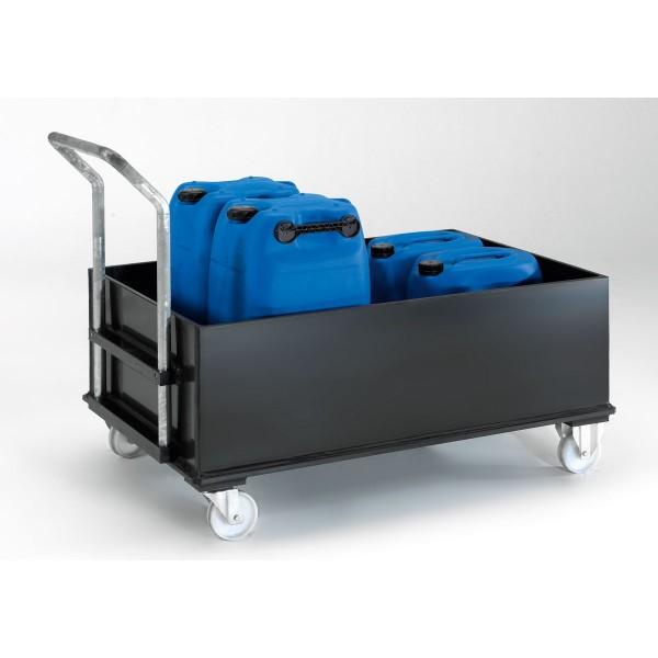 Mobile Kunststoff-Auffangwanne ME-W2