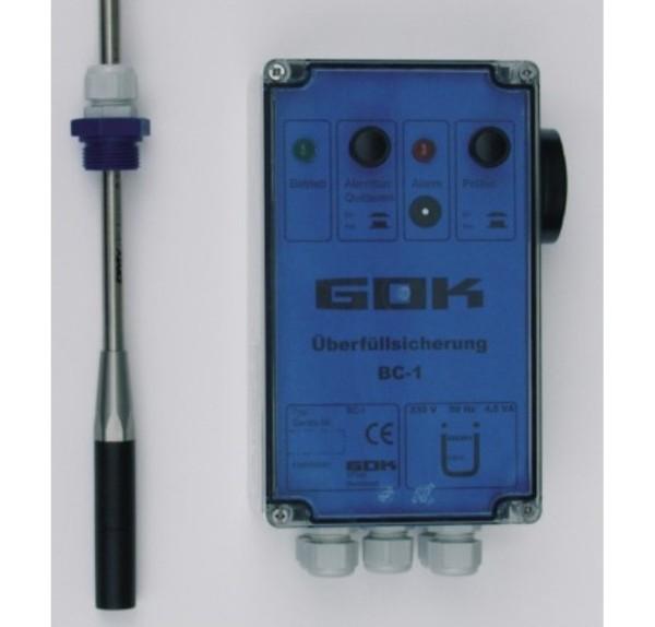 Elektronische Überfüllsicherung, 230 VAC