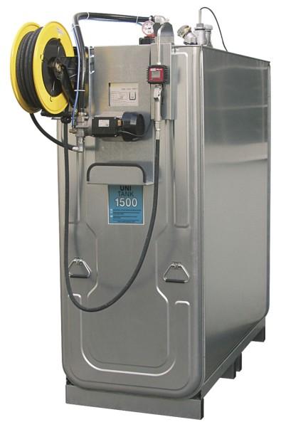 Schmierstoff-Kompaktanlage Typ UNI-Tank ECO 1500