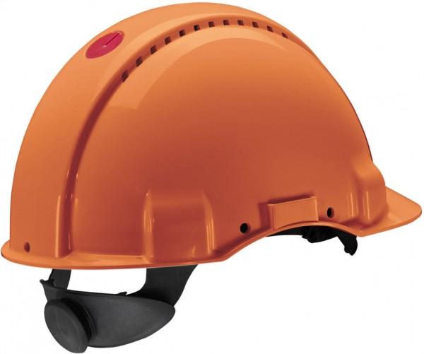 Schutzhelm G3000N orange mit Lampenhalterung
