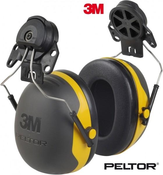 Kapselgehörschützer X4p3e mit Helmbefestigung