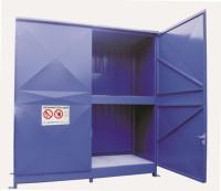 Regalcontainer Typ FS 14-130.2 W, mit Flügeltor