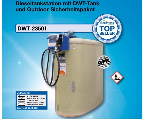 Dieseltankstation Typ DWT 2350 Outdoor