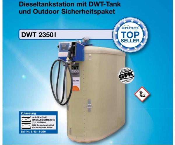 Dieseltankstation Typ DWT 2350 Outdoor