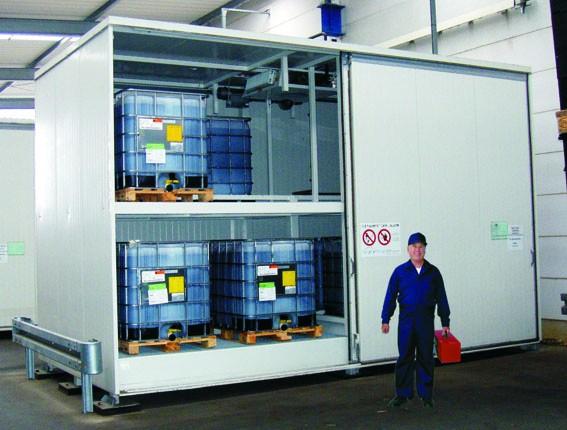 Sicherheitstechnische Überprüfung WHG-Lager
