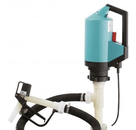 Elektrische Fass-Pumpe Chemie-Set