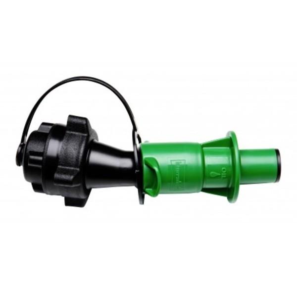 Sicherheitseinfüllsystem grün (Öl)