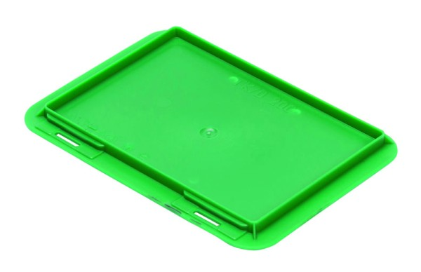 Auflagedeckel TK/200 A, grün aus Polypropylen