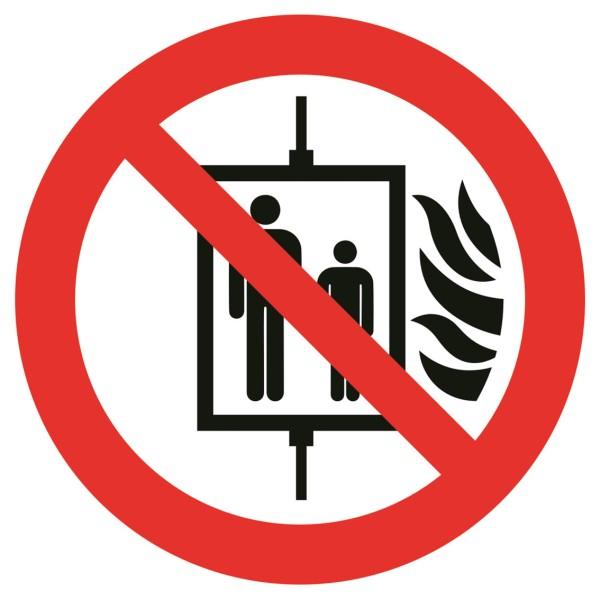 Sicherheitskennzeichnung Verbotszeichen rund