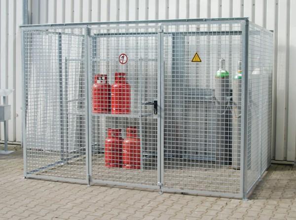 Gasflaschenlager Typ GFL-ZM 31/21 oD