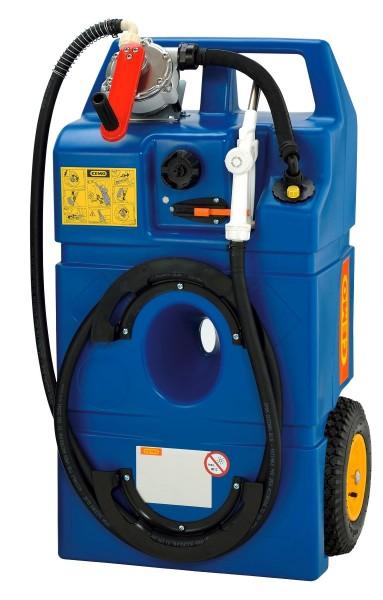 Trolley 100l für AdBlue mit Kurbelpumpe