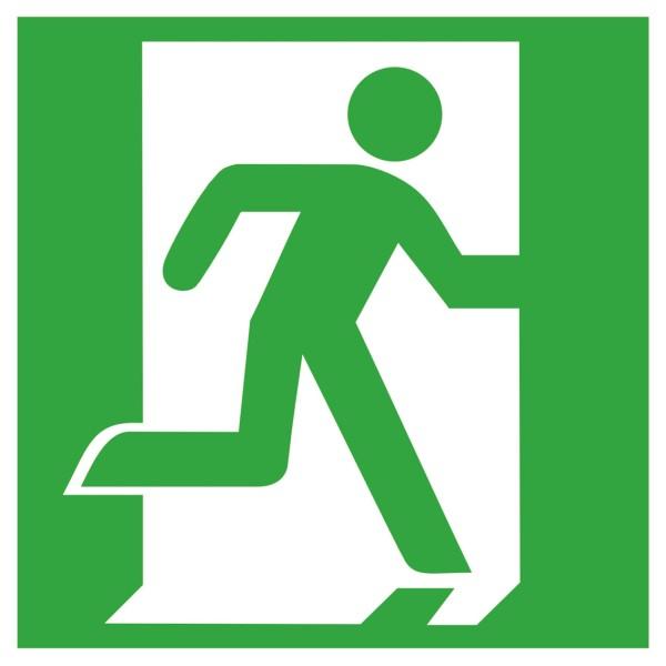 Sicherheitskennzeichnung Rettungszeichen