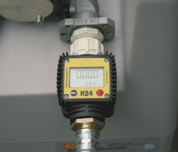 Digitaler Durchflusszähler K 24 für Elektropumpe