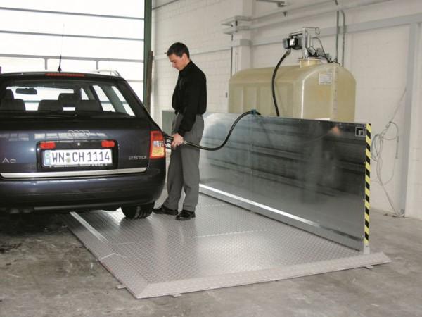 Abfüllplatz Kompakt Typ 400/200