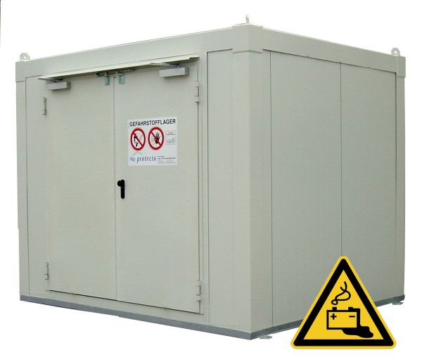 F-SAFE Lithium-Batterielager F90 Raum