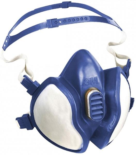 Halbmaske / Atemschutzmaske 4279 gegen organische,