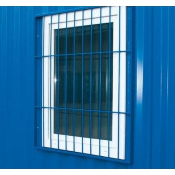 Fenster inkl. Fenstergitter