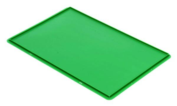 Auflagedeckel TK/D 600 A, grün aus Polypropylen