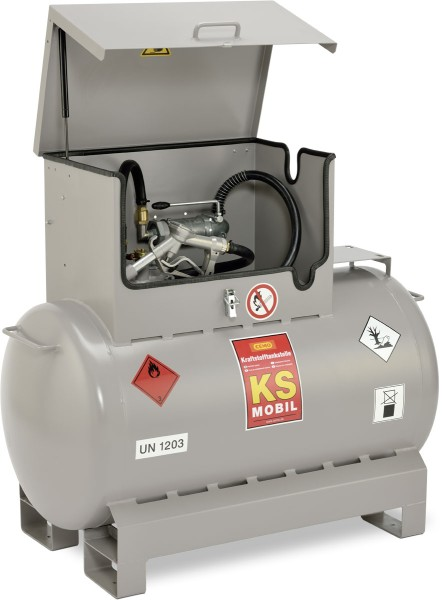Mobile Kraftstofftankanlage Typ KS-Mobil 300l