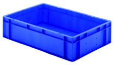 Transport-Stapelkasten TK 600/145-0, blau