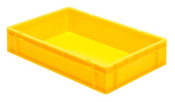 Transport-Stapelkasten TK 600/120-0, gelb