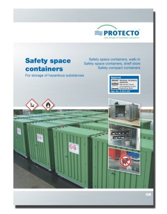 Safety space containers SRC PROTECTO