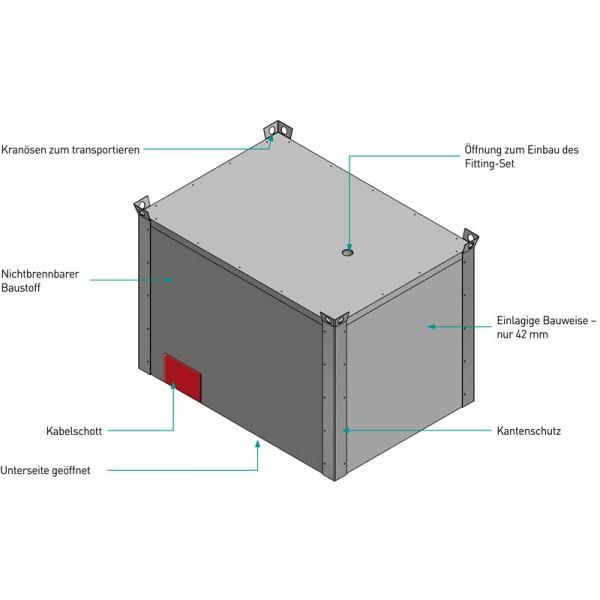 Li-SAFE Mobile Brandschutzabdeckung mit Kabel-