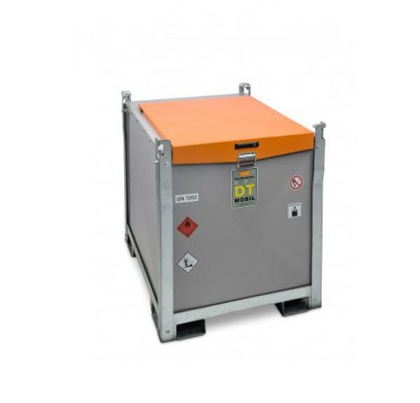 Mobile Dieseltankanlage mit Elektropumpe 230V
