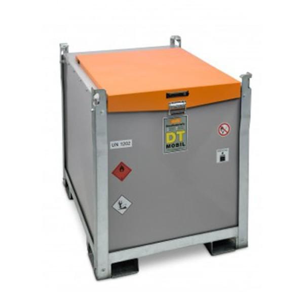 Mobile Dieseltankanlage mit Handpumpe 60 l/min