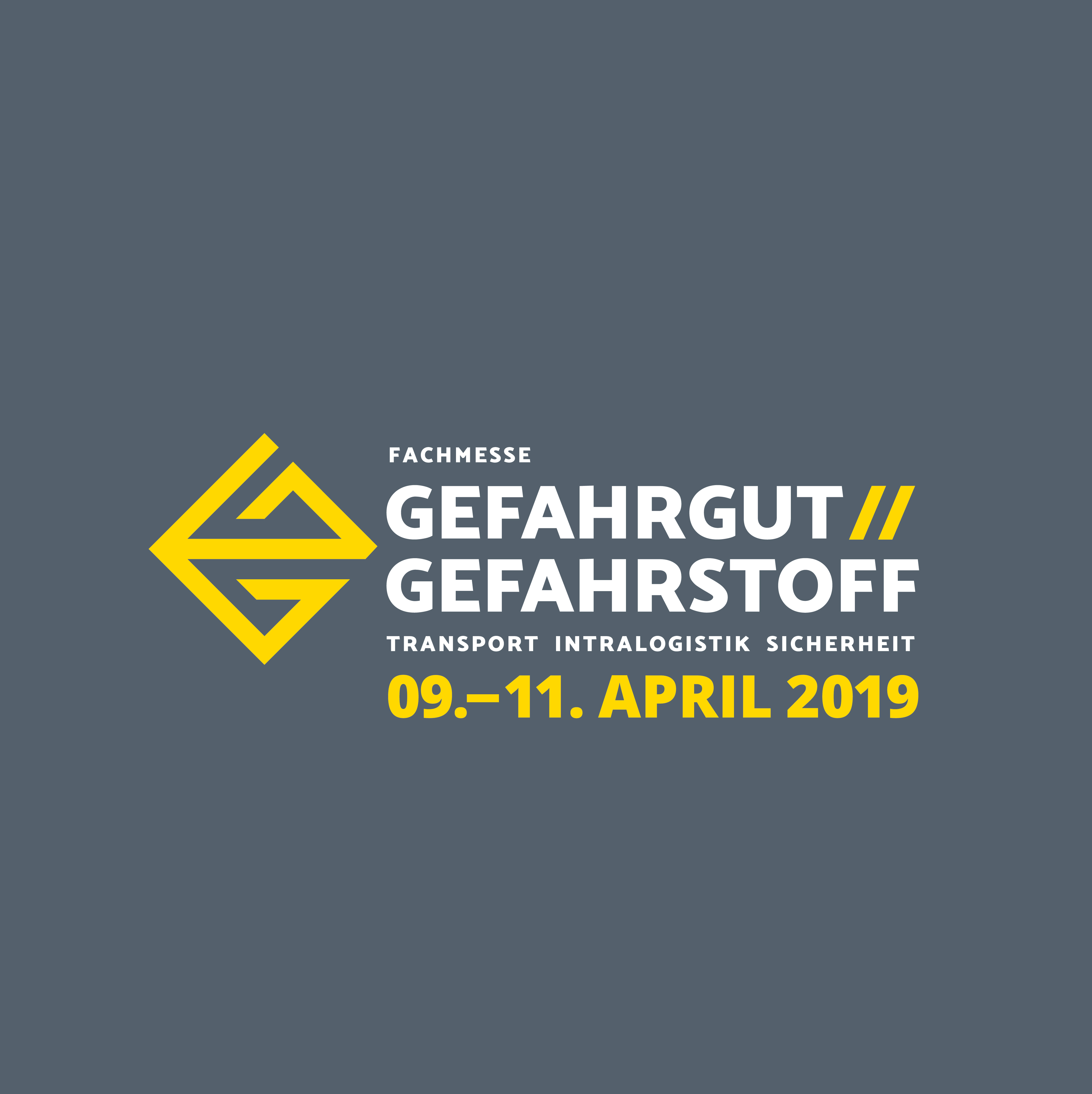Fachmesse Gefahrgut // Gefahrstoff 2019 - 09. April bis 11. April in Leipzig