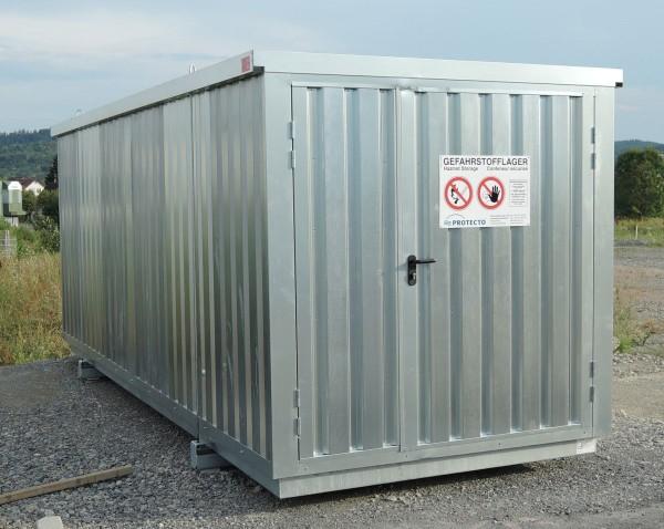 Gefahrstoffcontainer SRC 6.1W verzinkt