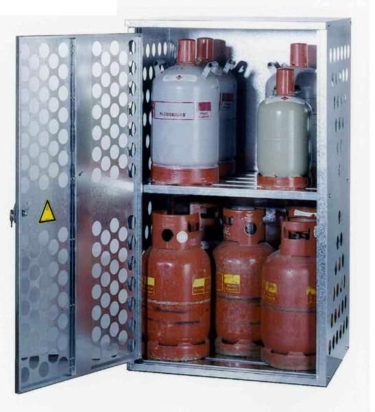 Zwischenboden zu Gasflaschenlager-Depot Typ GFL-D