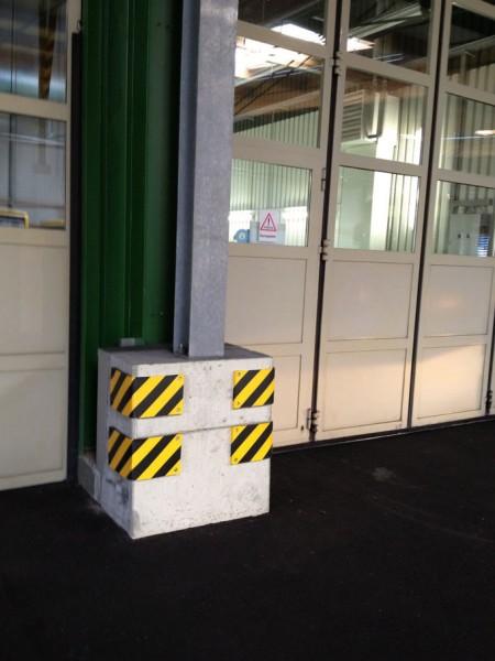 Prallschutz Säulenschutz für Ecksäulen