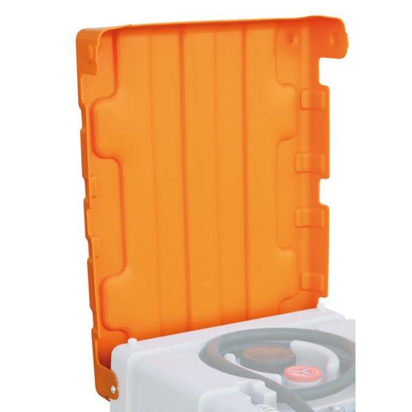 Klappdeckel für Mobile Dieseltankanlage