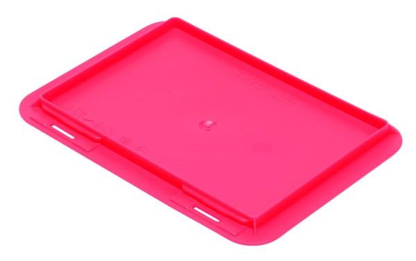 Auflagedeckel TK/200 A, rot aus Polypropylen