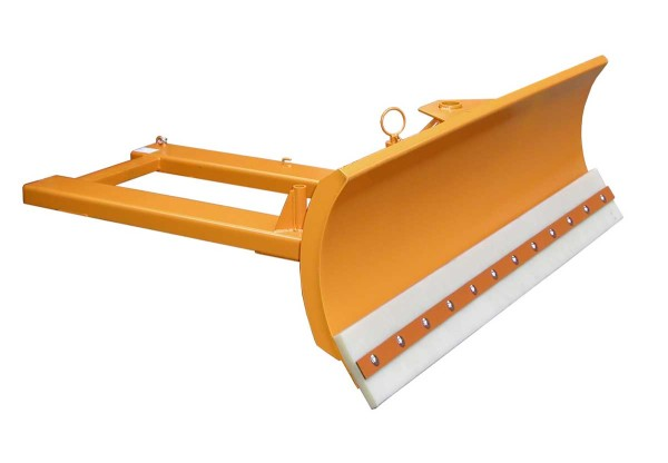Schneeschieber SCH-V 180, lackiert, gelborange