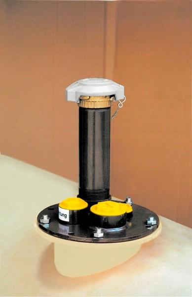 Domdeckel für Gebrauchtöl-Lagertank