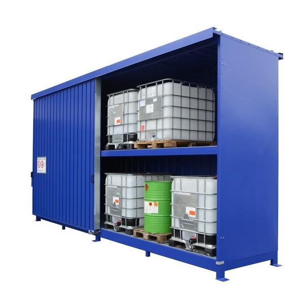 Regalcontainer Typ IBC 14-233.2 W, mit Schiebetor
