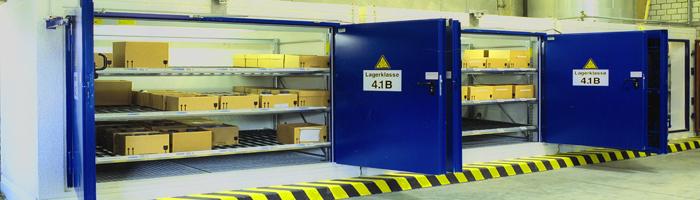 Das F-Safe Brandschutzlager in Betonbauweise mit DIBt-Zulassung