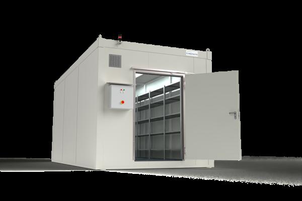 F-SAFE Gefahrstoffcontainer F90 Raum BLS DIBt