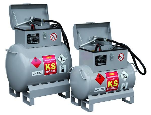 Mobile Kraftstofftankanlage Typ KS-Mobil 200l
