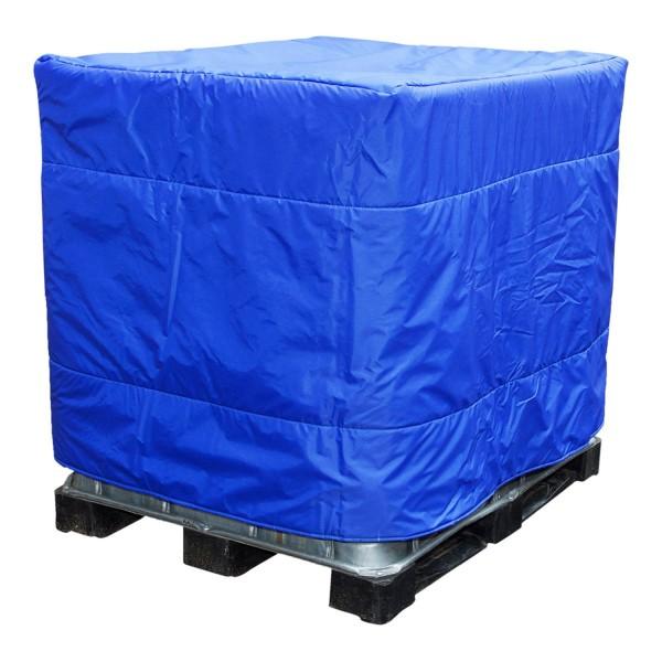 IBC-Isolierhaube Blau ohne Öffnung