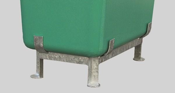 Stahlfußgestell verzinkt