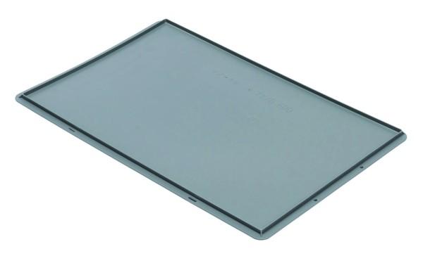 Auflagedeckel TK/D 600 A, grau aus Polypropylen
