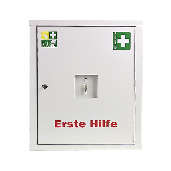 Verbandschrank EUROSAFE Industrie Norm Plus weiß