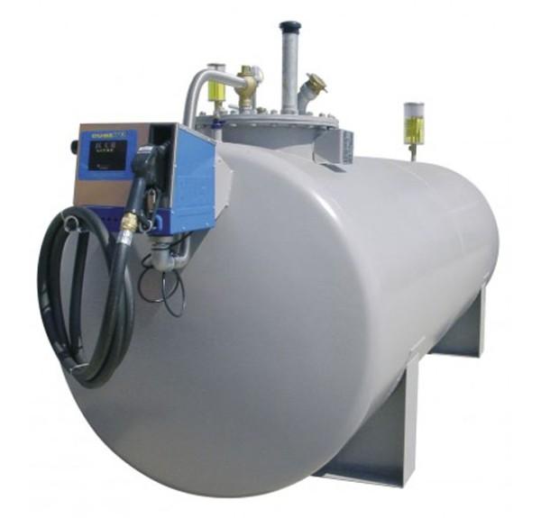 Stahltank 10000l, doppelwandig nach DIN 6616/D