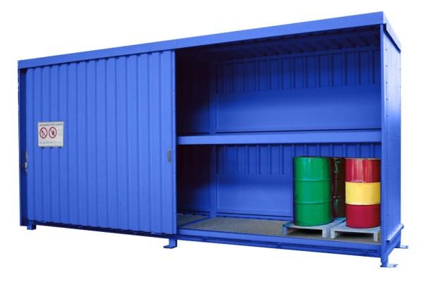 Regalcontainer Typ FS 14-230.2 W, mit Schiebetor